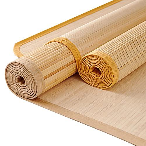 Colchón Que Se Dobla,Colchón Bamboo,Cama-colchón Plegable Bedding Alfombras de bambú Colchón Tejido Uso de Doble Cara para el Verano