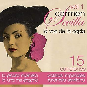 Carmen Sevilla: La Voz de la Copla. Vol. 1 15 Canciones