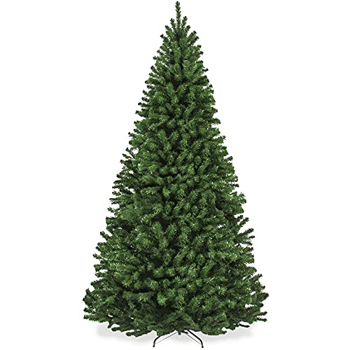 Best Choice Products 9ft Premium Spruce Artificial Holiday Christmas Tree for Home, Office, Party Decoration w/ 2,028 Branch Tips, Easy Assembly, Metal Hinges & Foldable Base