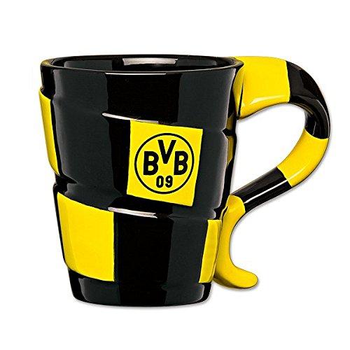BVB 09 Borussia Dortmund Tasse Schal 0,3 l Kaffeetasse Schaldesign Kaffeebecher Becher Pott 13700200