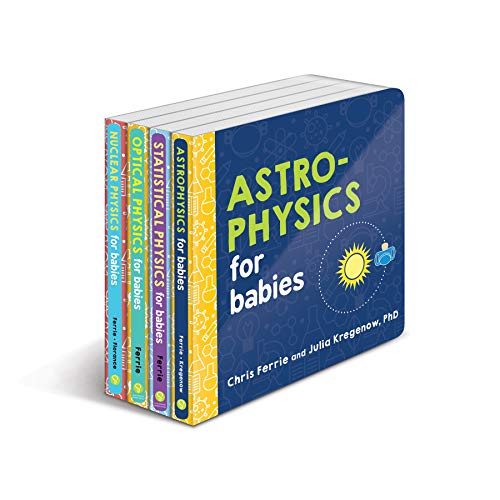 Baby University Physics Board Book Set: Explore Astrophysics, Nuclear Physics, and More with the Ultimate 4-Book Physics Gift Set (STEM and Science Gifts for Kids) (Baby University Board Book Sets)