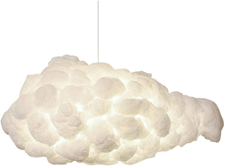 Kronleuchter Persnlichkeit Baumwollwolke Kronleuchter Einfache Seide Schlafzimmer Esszimmer Lampe Dekoration Hotel Einkaufszentrum Bekleidungsgeschft Beleuchtung (Farbe   Weiß light-30cmx23cm)