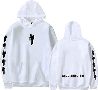 Unisex Billie Eilish Casual Pullover Sweatshirt Hoodies Music Fans Gift