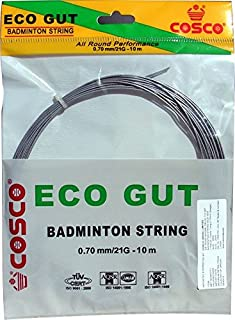 Cosco Eco Gut Badminton String (White)