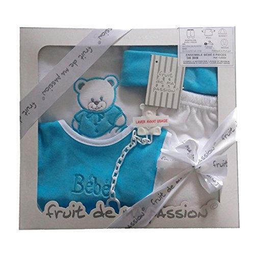 Coffret Bleu/ Garçon-Cadeau de naissance - Coffret de...