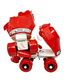 Aurion Roller-Skates RED Unisex Roller Skates for Kids (Red)