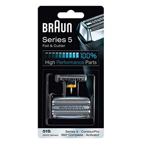 Braun 51s Replacement Foil & Cutter For Shaver Model 8985