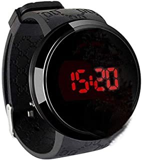 Techno Pave Digital Touch Screen Sports Smart Watch with Rubber Silicone Band