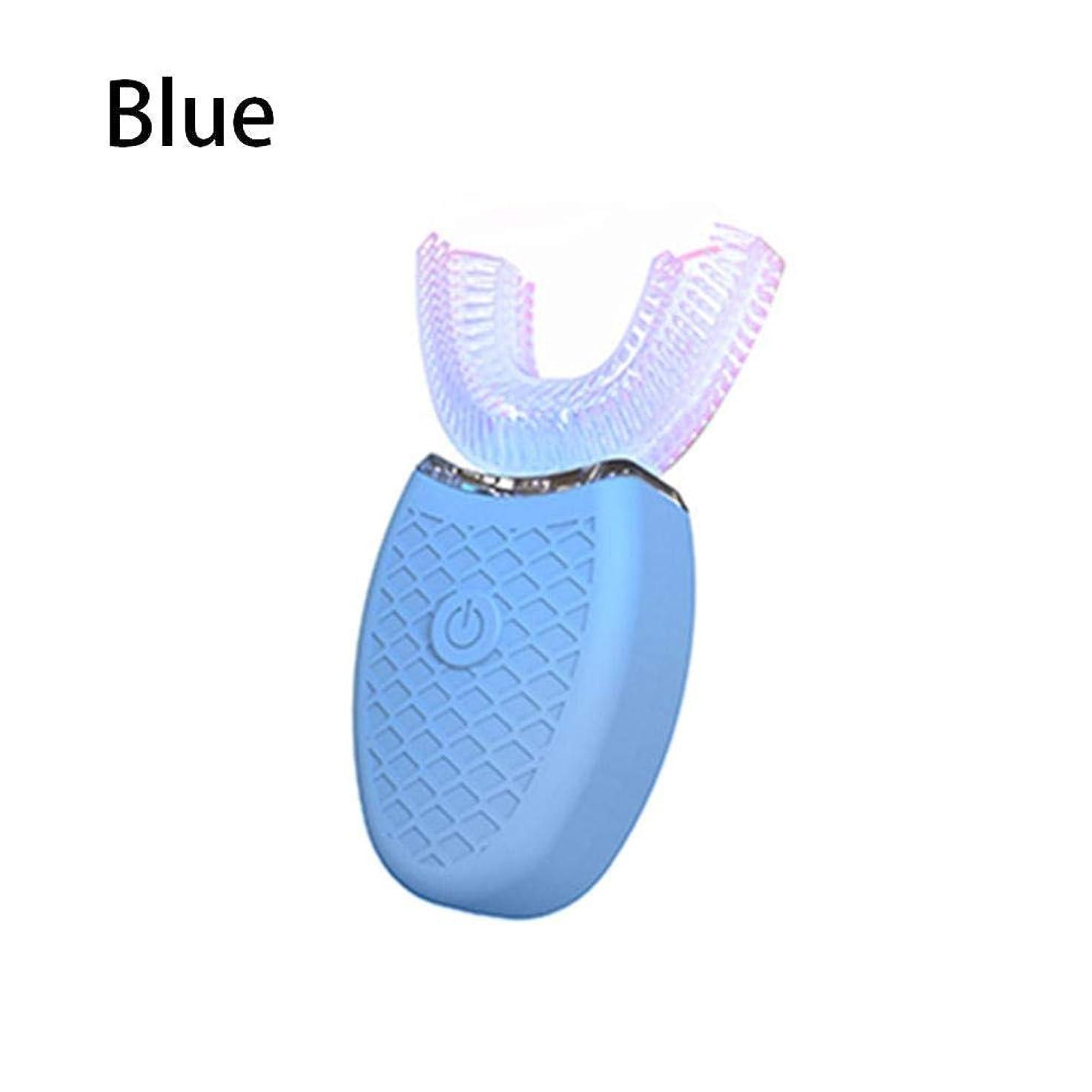 紛争女性矩形?超音波自動電動歯ブラシU字型歯科用クリーナー防水ポータブルソニック歯ブラシ