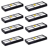 FTAID 8 Packs HEPA Filter Filters Replacement for iRobot Roomba 800 900 Series Parts Accessories 805 860 870 871 880 890 960 980 Vacuum Cleaners