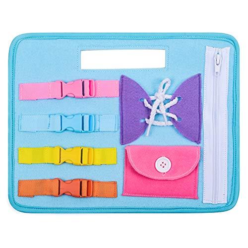Juguete educativo de aprendizaje para bebés, Montessori Fine Motor Skill Juguetes para de 2 a 4 años Niñas pequeñas de 9 a 18 meses Niños Juguetes de bebé Regalo de cumpleaños para niños de 2 a 4 años
