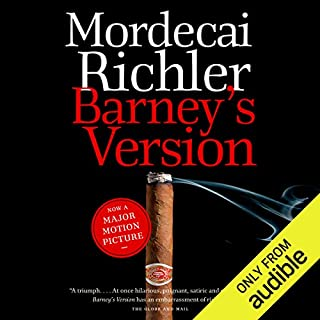 Barney's Version                   Written by:                                                                                                                                 Mordecai Richler                               Narrated by:                                                                                                                                 Graham Abbey                      Length: 16 hrs and 38 mins     8 ratings     Overall 4.8