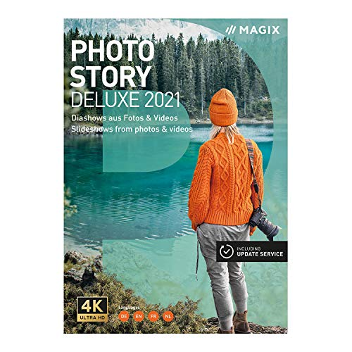 PhotostoryDeluxe– Version 2021 – Animated Slideshows From Photos & Videos [PC Download]