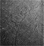 """EZ FAUX DECOR Marble Self Adhesive Granite Gray Matte Soapstone Roll Kitchen Countertop Cabinet Furniture Instant Update. Easy to Remove Thick Waterproof PVC Vinyl Laminate Film. 36"""" X 36"""""""