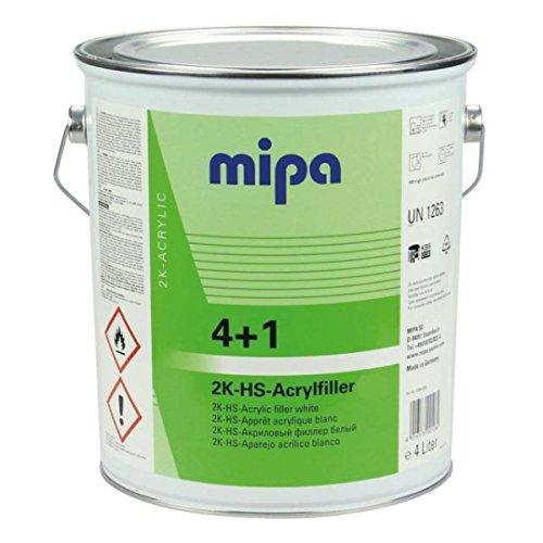 MIPA 4+1 Acrylfiller HS, hellgrau, 4Ltr.