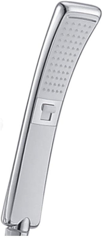 HUASA Handheld Shower Head Waterfall Anti-hot High Pressure 2 Functions Chrome