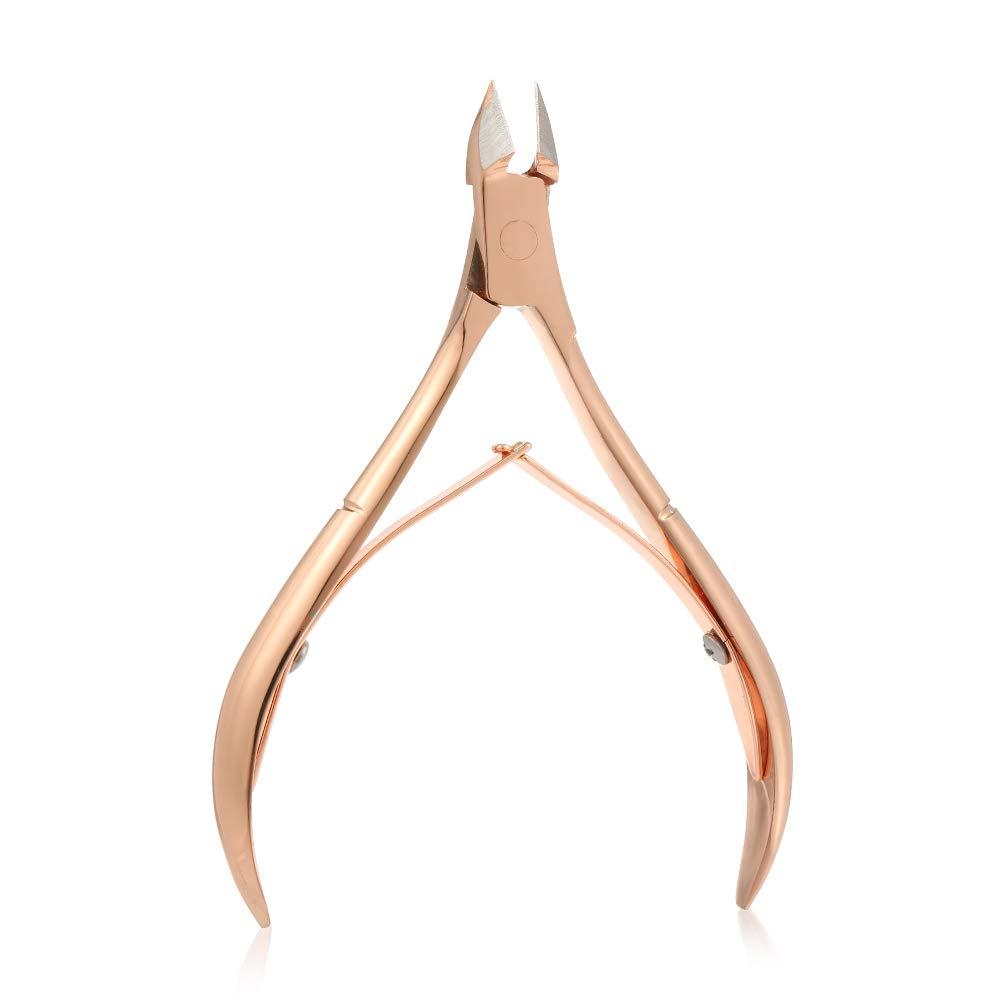 予見する麻痺させる講師Decdeal 爪切り 巻き爪 硬い爪 厚いつめ 変形爪に対応 ステンレス製 爪&足指 マニキュアツール