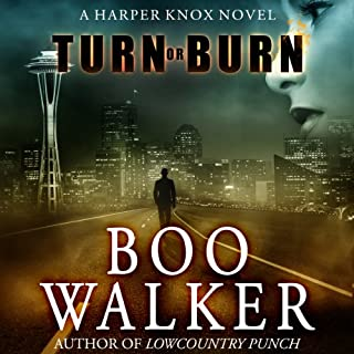 Turn or Burn audiobook cover art