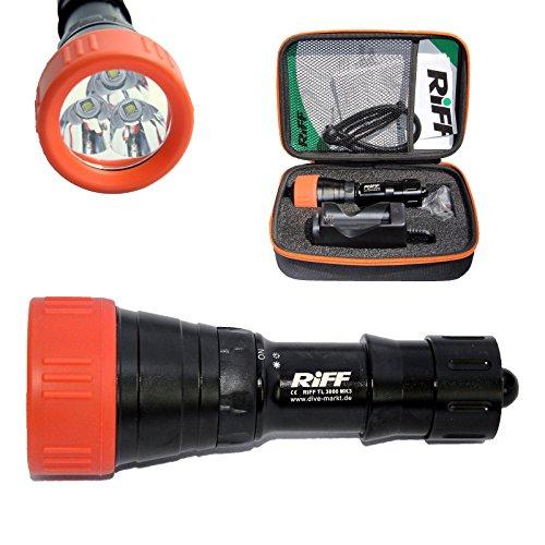 RIFF TL 3000 MK3 LED Tauchlampe