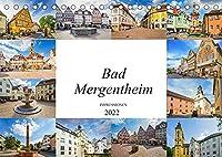 Bad Mergentheim Impressionen (Tischkalender 2022 DIN A5 quer): Zwoelf eindrucksvolle Bilder von Bad Mergentheim (Monatskalender, 14 Seiten )