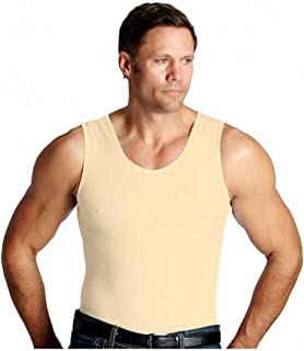 ISPRO Activewear Slimming Tank Top Shapewear Vest Compression Shirt for Men