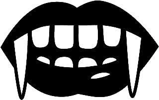 Vinyl Wall Art Decal - Vampire Teeth - 6