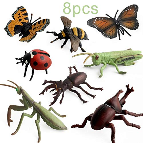 Wild Republic 10 Piece Insect Collection