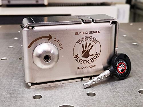 Block Box Blind OBD Key + Mini caja fuerte blindatura para OBD con llave Protección antirrobo coche seguridad