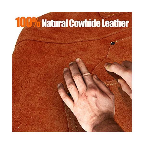 Mayceyee Leather Work Shop Apron 3