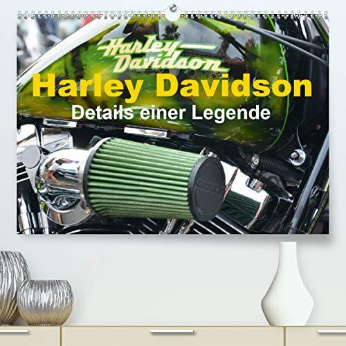 Calvendo Premium Kalender Harley Davidson - Details einer Legende: Harleydetails für Fans (hochwertiger DIN A2 Wandkalender 2020, Kunstdruck in Hochglanz)
