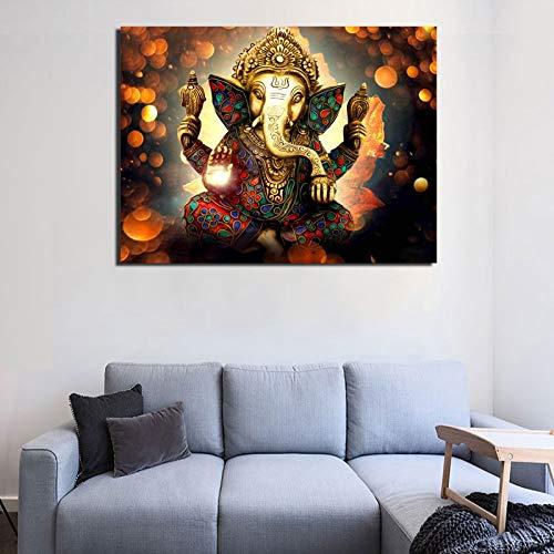 YuanMinglu Poster e Stampe su Tela Wall Art Tela Pittura Pittura Decorativa Camera da Letto Decorazione Domestica Moderna Pittura Senza Cornice 72x90cm