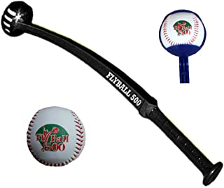 FlyBall 500 Baseball Training Aid for Outfield and Infield Practice Drills
