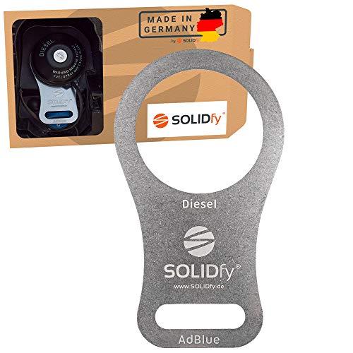 SOLIDfy® - AdBlue Verschluss Sicherung aus Edelstahl für Ducato, Jumper, Boxer