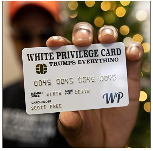 White Privilege Card Trumps Everything Credit Card - White Privilege Card Trumps Everything Wallet Insert Card Joke Gag Gifts for Men and Women