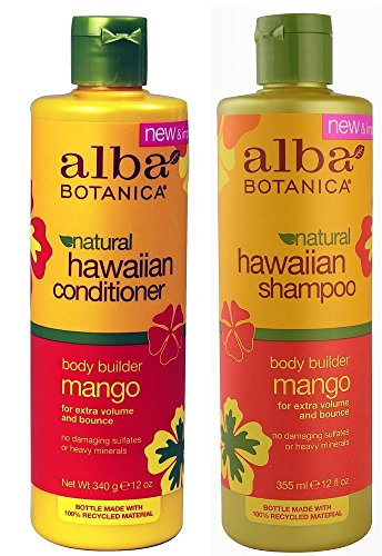 Alba Botanica Alba botanica, natural hawaiian shampoo and conditioner, mango, 12-ounce bottle