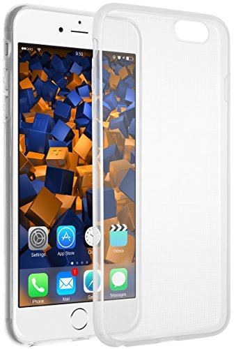 mumbi Hülle kompatibel mit iPhone 6 Plus / 6S Plus Handy Hülle Handyhülle dünn, transparent