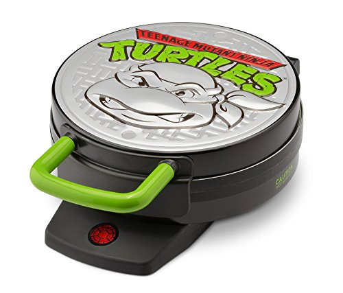 Nickelodeon NTWM-43 Teenage Mutant Ninja Turtles Round Waffle Maker