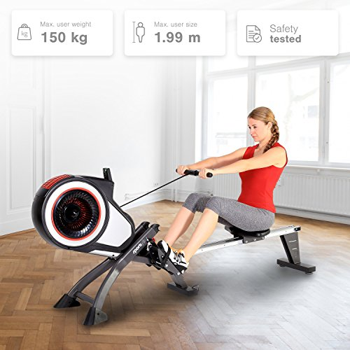 SportPlus Indoor Turbine Rower Review