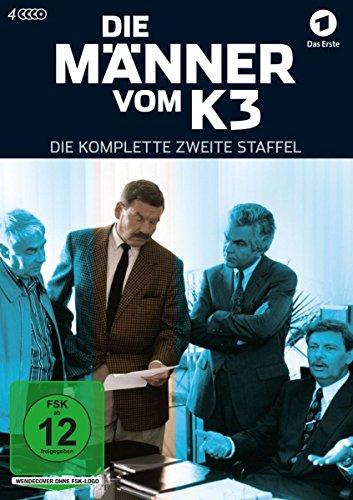 Die Männer vom K 3 - Die komplette zweite Staffel [4 DVDs]