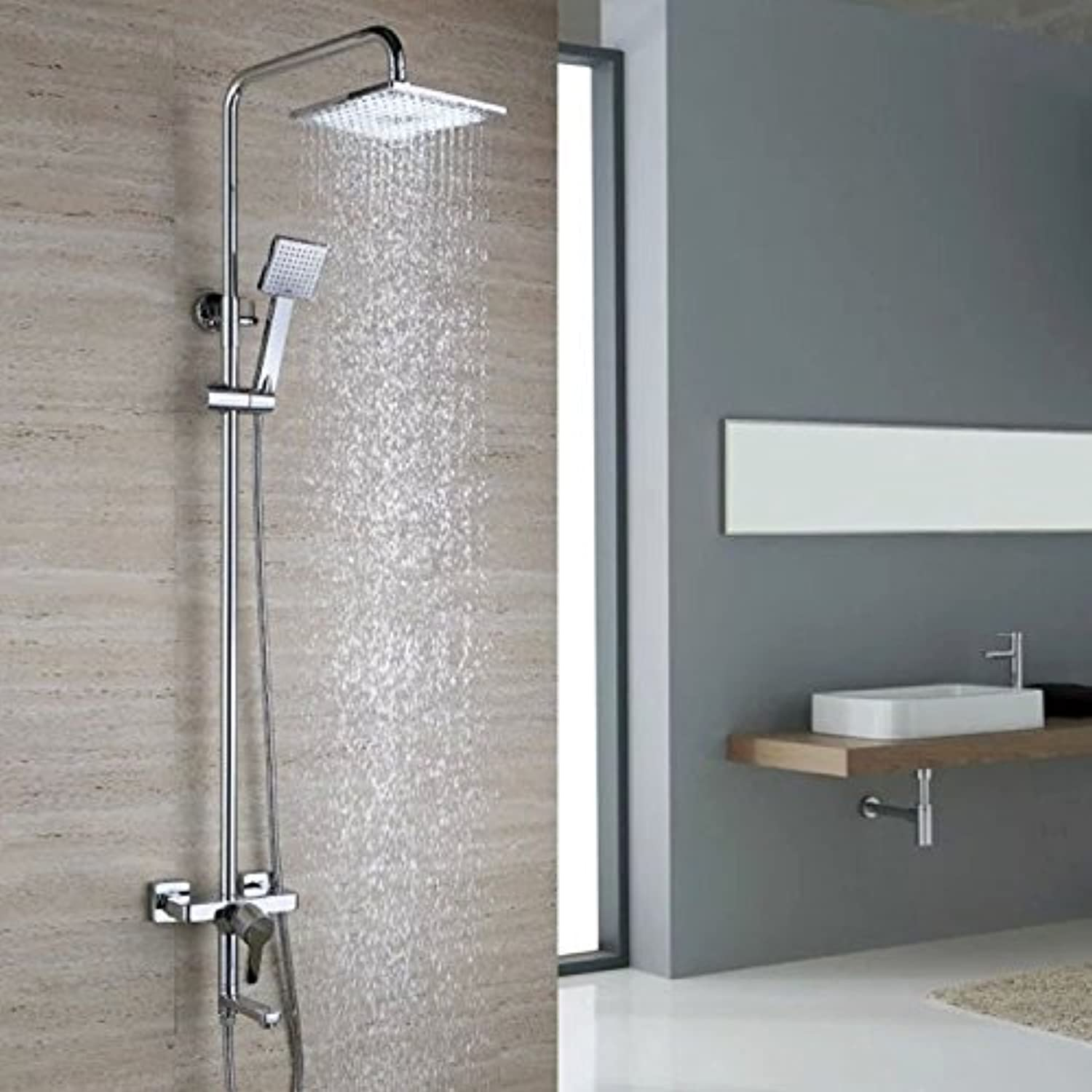 Modern All-Copper to The timely Wall Shower Shower Faucet Cease Shower