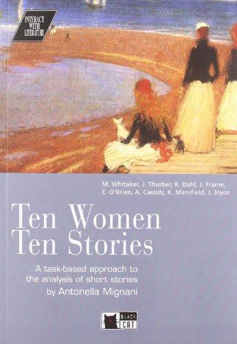 TEN WOMEN TEN STORIES CD - BLACK CAT: Ten Women Ten Stories + audio CD (Interact with literature)