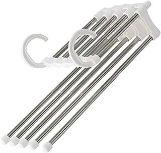 KEYkey Plegables balcón Tendedero Ajustable Multifuncional de Acero Inoxidable Ropa de Secado Barra telescópica Suspensión de Ropa de Secado de Almacenamiento en Rack Colgando 1PC