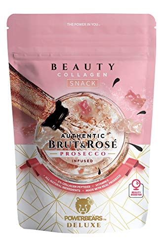 POWERBEÄRS Beauty-Snack Prosecco mit Kollagen 8 x 100 g