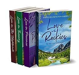 The True Love Travels Series Box Set: Books 1-4 Complete Sweet Romance Box Set by [Poppy Pennington-Smith]