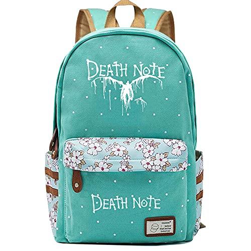 Chan-Mei Anime Death Note Teen Girls Bolsos japoneses KawaiiSchool Mochila