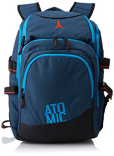 Atomic Damen/Herren Travel- und Skischuh-Rucksack, 30 L, All Mountain, Verstellbare Hüft- und Brustgurte, AL5023310, AMT Boot and Travel Backpack, Blau