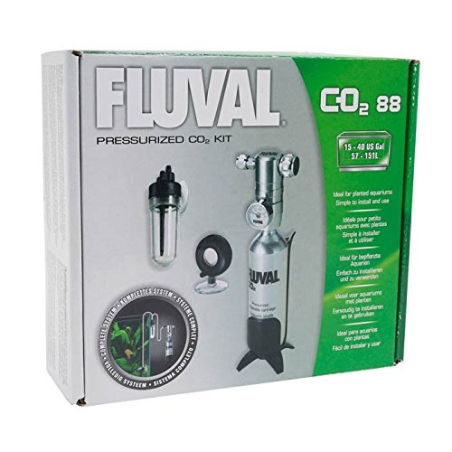 Fluval Kit de CO2 Presurizado Grande 88