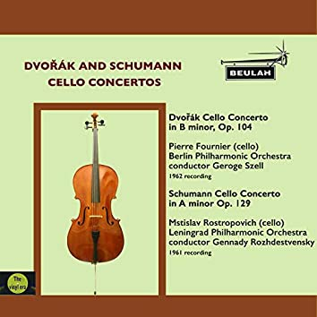 Dvořák and Schumann Cello Concertos