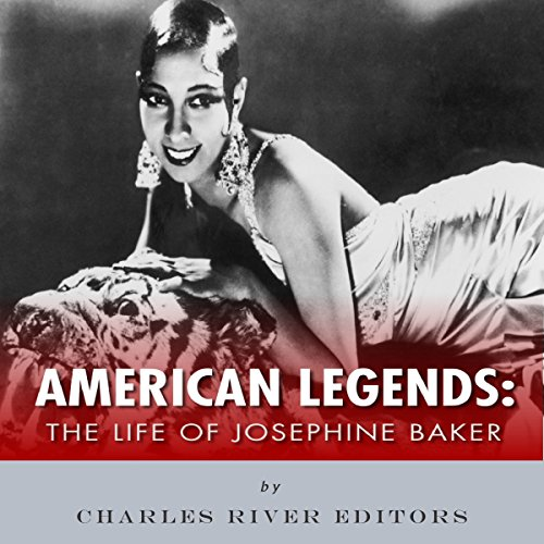 American Legends: The Life of Josephine Baker audiobook cover art