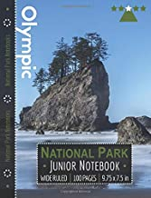 Olympic National Park Junior Notebook: Wide Ruled Adventure Notebook for Kids and Junior Rangers